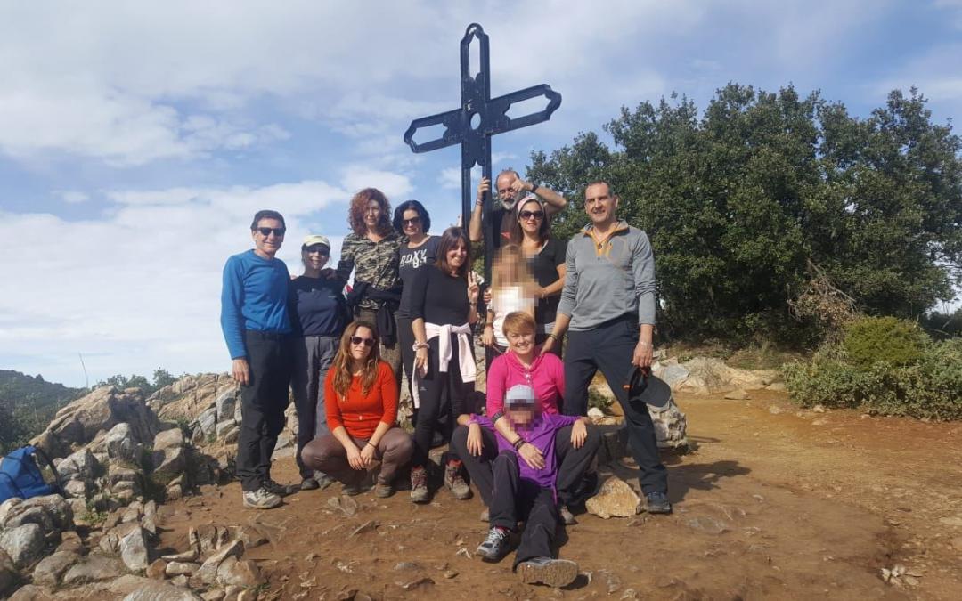 Primera salida de Senderismo La Sonrisa de Melania a la Cruz de Juanar