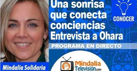 Mindalia entrevista a nuestra presidenta, Ohara Arrebola