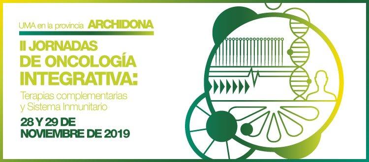 Estaremos en las II Jornadas de oncología integrativa en Archidona