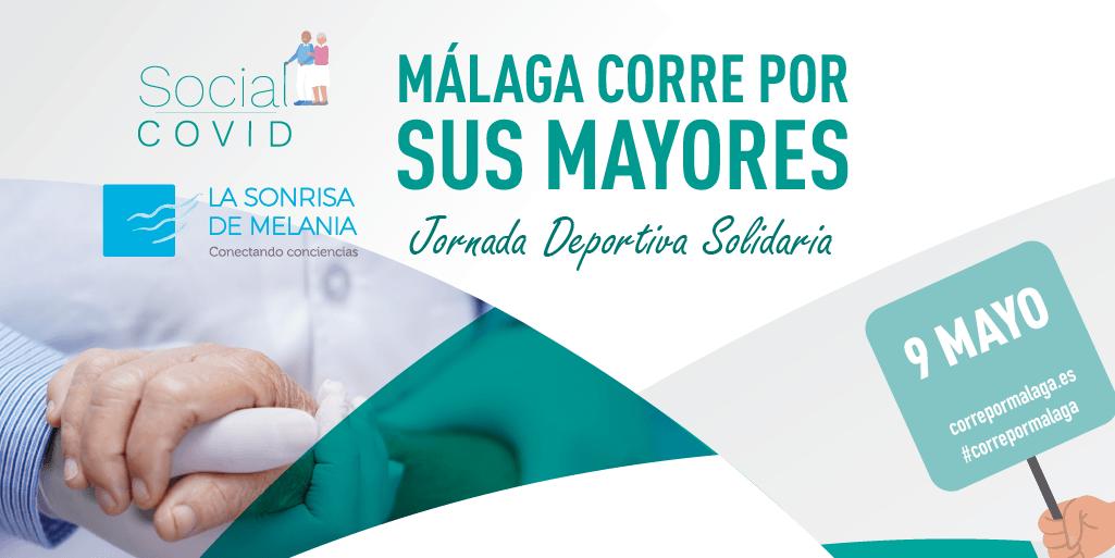 Málaga corre por sus Mayores, una jornada deportiva solidaria en ayuda a Social Covid
