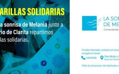 Mascarillas Solidarias en La Sonrisa de Melania